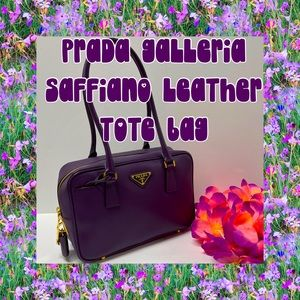 💜RESERVED! HOST PICK! PRADA GALLERIA LEATHER BAG